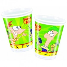 PHINEAS & FERB COPO PACK 10