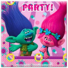 GUARDANAPOS TROLLS POPPY PARTY PACK DE 20