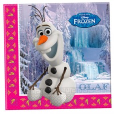 GUARDANAPOS OLAF FROZEN PACK DE 20