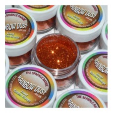 JEWEL GOLDEN ORANGE RAINBOW DUST
