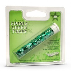 EDIBLE GREEN TRESS RAINBOW DUST