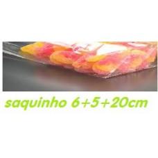 SAQUINHO CELOFANE COM FUNDO 6+ 5 X20 CM PACK DE  10